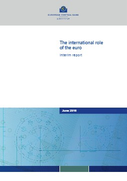 The international role of the euro, June 2016 - cover image